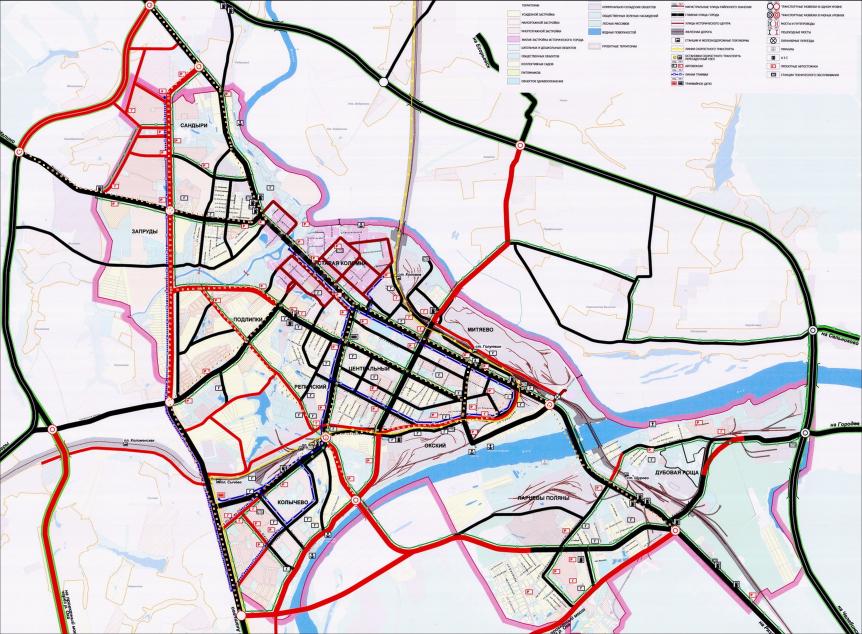 Комплексная транспортная схема 2018